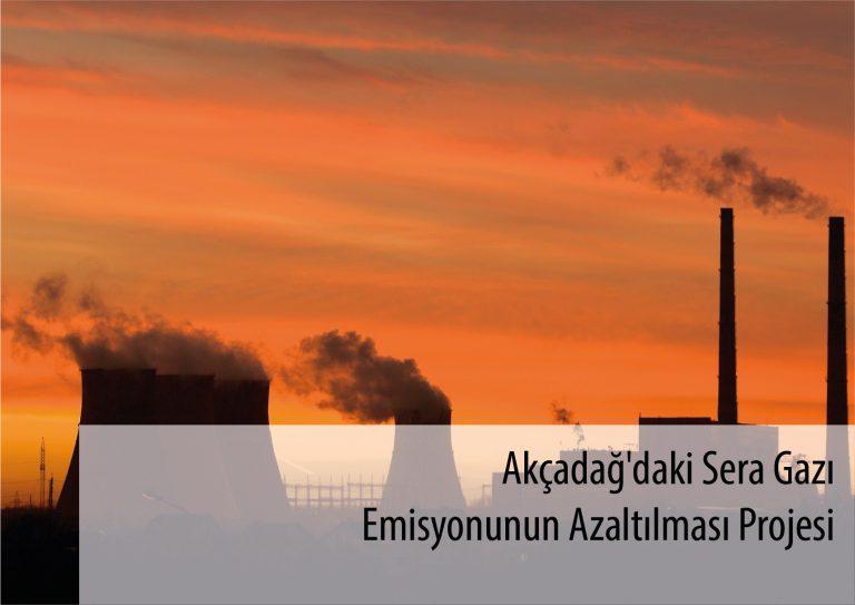 Akçadağ'daki Sera Gazı Emisyonunun Azaltılması Projesi
