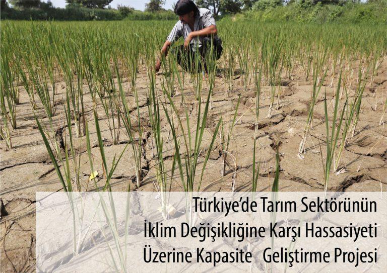 Türkiye'de Tarım Sektörünün İklim Değişikliğine Karşı Hassasiyeti Üzerine Kapasite Geliştirme Projesi